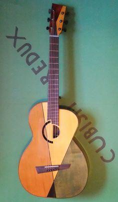 "Michael Dunn ""Cubist""  #LardysWishlists #Guitar ~ https://www.pinterest.com/lardyfatboy/ ~"