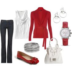 love it! love wearing red