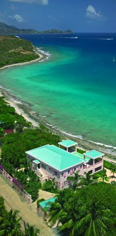 Villa Rental:Saint Thomas Waterfront Villa Located on Cabrita Point - Sea Star. Villa Sea Star is an upscale waterfront villa located on Cabrita Point on the East End of the island. Oh The Places You'll Go, Places To Travel, Travel Destinations, Places To Visit, Vacations In The Us, Dream Vacations, Vacation Trips, Vacation Spots, Caribbean Vacations