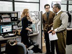 Amy Adams, Henry Cavill et Laurence Fishburne dans Batman v Superman