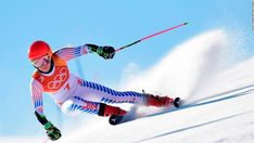 15 Olympics Highlights in Photos: Shiffrin Wins Gold - NBC 5 Dallas-Fort Worth - USA's Mikaela Shiffrin competes in the Women's Giant Slalom at the Yongpyong Alpine Centre during the Pyeongchang 2018 Winter Olympic Games in Pyeongchang on Feb. 2018 Winter Olympic Games, Olympic Games Sports, Winter Games, Slalom Skiing, Alpine Skiing, Mikaela Shiffrin, Pyeongchang 2018 Winter Olympics, Ski Racing, Empire Style