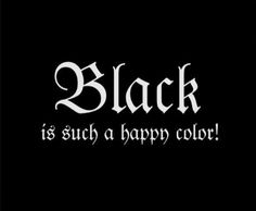 Black Happy Colour Morticia Addams Poster by ColorAndCanvas