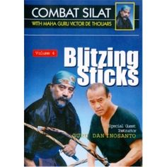 Indonesian Combat Pentjak Silat #4 Blitzing Sticks DVD Victor deThouars Inosanto