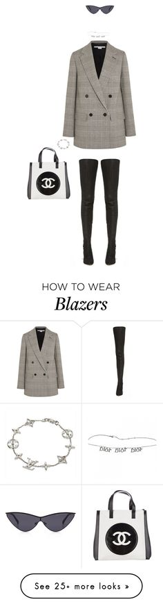 """""""Untitled #125"""" by lilguccij on Polyvore featuring STELLA McCARTNEY, Louis Vuitton, Maison Margiela and Chanel"""