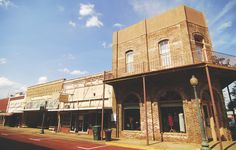 The Oldest Town in Texas - American Cowboy | Western Lifestyle - Travel - People
