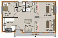 30 x 60 house plans north facing with vastu - Page 13 of 48 - terrysbedrooms 20x30 House Plans, House Plans For Sale, Small House Floor Plans, House Plans With Photos, Bungalow House Plans, Bungalow House Design, Small House Design, Dream House Plans, Australian House Plans