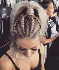 30 of the Coolest Pierced Braid Look hairstyle