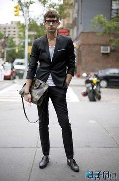 看街拍,学穿衣-君子门 男士时尚的世界-频道要闻-男士时尚|男人装|型男|发型|护肤|美容|服装搭配