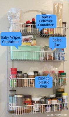 Use What You Have Pantry Organization