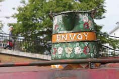 narrowboat, hand painted