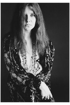 Janis Joplin, Beaded Cape, (Nude with jacket and beads), 1967 Bob Seideman