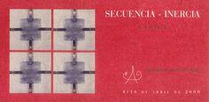 """""""Secuencia-Inercia"""" exposición de Lazaga en la Fundación Antonio Pérez Cuenca Abril 2000 #FundacionAntonioPerez #Cuenca #Lazaga"""