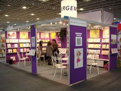 Gemser's stand at the Frankfurt Book Fair