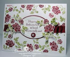 Stampcrave: Cherry Roses