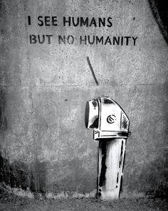 words. human. humanity.