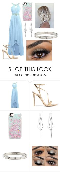 """""""PRINCESS ALLURA *loooks sweet, but can whoor your ass"""" by hashtagfudgebarsfrombae on Polyvore featuring Gianvito Rossi, Casetify, Diane Kordas and Cartier"""