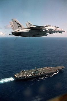 Navy Aircraft, Military Aircraft, F-14 Tomcat, Aircraft Carrier, Trek, Air Force, Aviation, Cruise, Airplanes