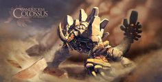Sandstorm Colossus -earth