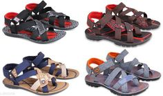 Sandals Designer Mesh Men's Sandals (4 Pairs) Material: Outer - Mesh Sole - PU IND Size: IND - 6 IND - 7 IND - 8 IND - 9 IND - 10 Description: It Has 4 Pairs Of Men's Sandals Color: Multi Color Country of Origin: India Sizes Available: IND-5, IND-6, IND-7, IND-8, IND-9, IND-10 *Proof of Safe Delivery! Click to know on Safety Standards of Delivery Partners- https://ltl.sh/y_nZrAV3  Catalog Rating: ★4.1 (3624)  Catalog Name: Stylish Designer Mesh Men's Sandals Combo Vol 1 CatalogID_392746 C67-SC1238 Code: 306-2889158-9991