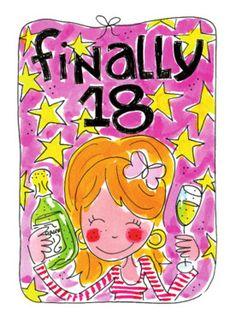 gefeliciteerd 18e verjaardag Finally, 18! #Hallmark #HallmarkNL #happybirthday #birthday  gefeliciteerd 18e verjaardag