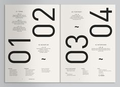 Typography / Geiger Magazine on the Behance Network — Designspiration