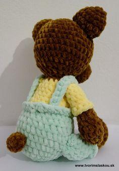 Crochet Toys, Beanie, Tela, Bears, Tejidos, Beanies, Beret