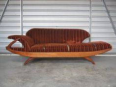 JETSONS 60S LOUNGE SUITE INCLUDING BANANA CHAISE Lounge Suites, Lounge Decor, Mid Century Furniture, Love Seat, Armchair, Art Deco, Couch, Retro, Van Life