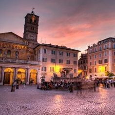 The perfect day in Trastevere. This is the neighborhood we will be staying in.