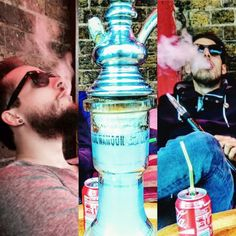 RoE's members in London, taking a smoky rest.