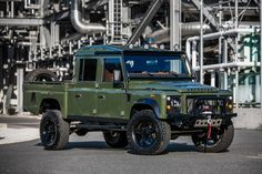 East Coast Defender Turns a Land Rover Defender 130 into a 'Huntress'