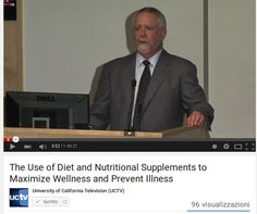 Linee guida dietetiche alimentari / The Use of Diet and Nutritional Supplements to Maximize Wellness and Prevent Illness