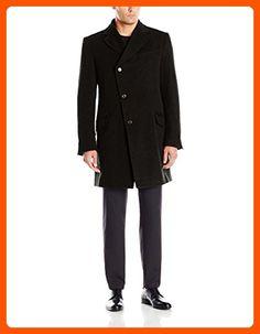 Vivienne Westwood Men's Asymmetric Classic Melton Coat,  Black, 50/Large - Mens world (*Amazon Partner-Link)