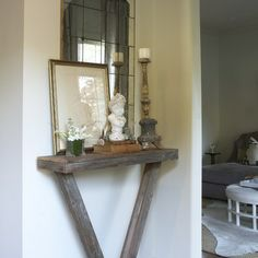 Merveilleux Narrow Half Moon Table | Welcome Home   The Beautifully Organized Entryway  | Simplified .