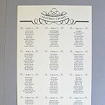 Free Printable Seating Chart Free Stylish Wedding Seating Chart Printable  Pinterest  Weddings .