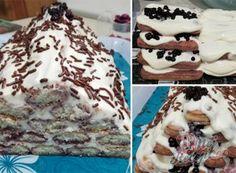 Nejlepší nepečené recepty | NejRecept.cz Cakes And More, No Bake Desserts, Tiramisu, Yummy Treats, Waffles, Cheesecake, Food And Drink, Cooking Recipes, Ice Cream