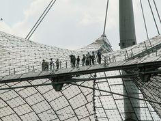 Olympia stadion München, Frei Otto u.a.