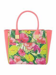 Ted Baker Floral Large Tote Bag