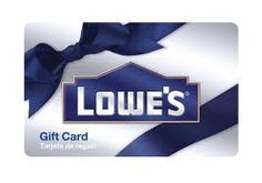 Lowes Gift Card- Tools, Tool Boxes, Stuff for around the House!