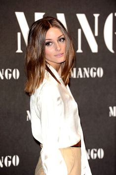 Olivia+Palermo in Olivia Palermo at the Mango Fashion Show