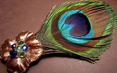 Accessories Made With Peacock Feather