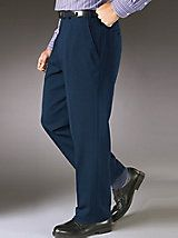 Stretch-Infused Slacks | Haband