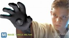 Toy Creators Uncle Milton have developed The Force Glove. The glove uses a magnet buried inside your palm to repel or attract objects based on their polarity. Robe and Jedi Haircut sold separately.