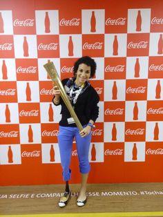 Exposição Coca-Cola da Tocha Olímpica de Londres 2012