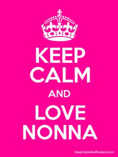 Love being a Nonna