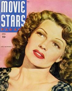 Rita Hayworth 11x17 Movie Stars Parade Magazine Cover Poster (1940's)
