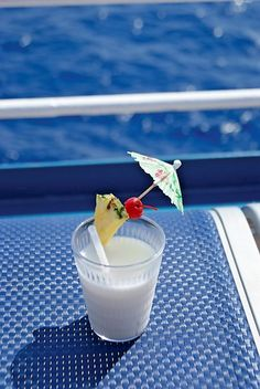 Breakfast on a cruise ship.