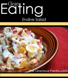 Endive Salad with Fresh Yogurt Dressing