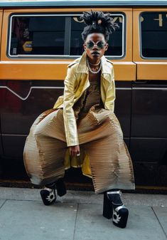 This Vintage Fashion Shoot Starring Ghanaian Singer Jojo Abot Will Give You Life OkayAfrica.