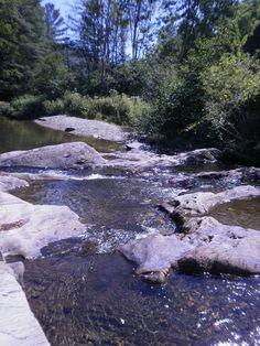 Summer streams, Vermont