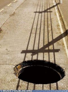 A kind of guitar by the shadows of the street...! Amazing shoot...!